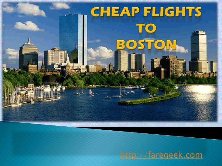 cheap flights to boston n.