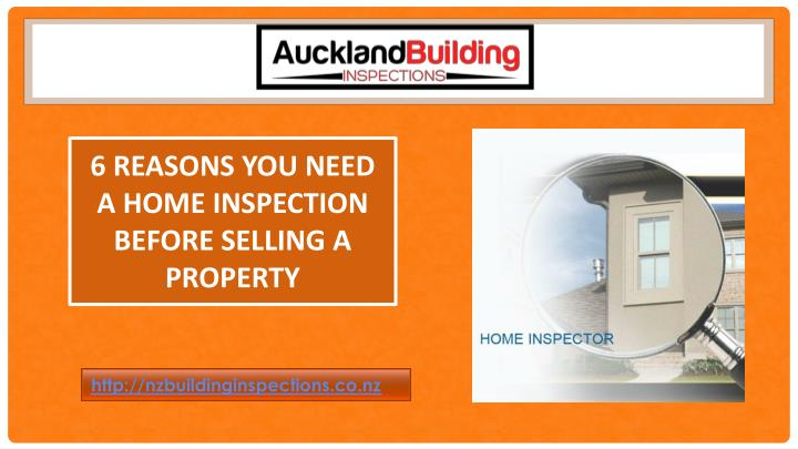 6 reasons you need a home inspection before selling a property n.
