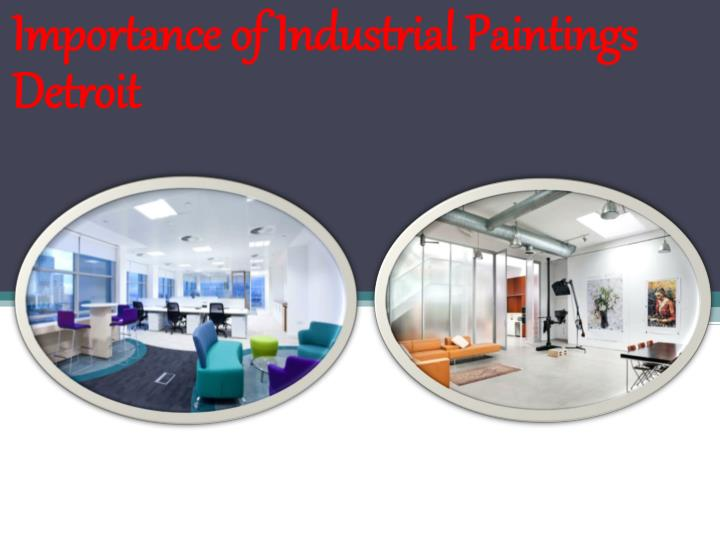 importance of industrial paintings detroit n.