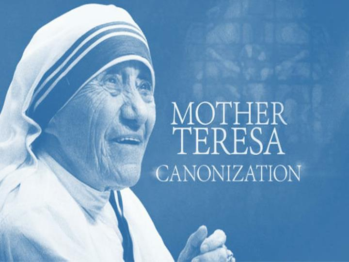 canonisation of mother teresa n.