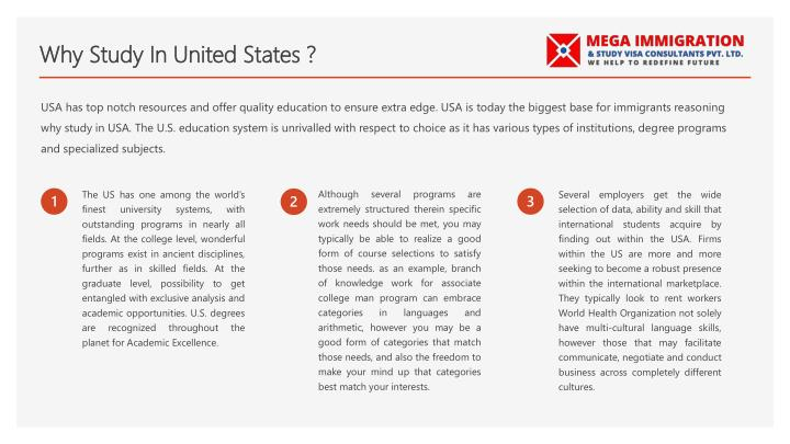 essay of why do you want to study in usa About us we value excellent academic writing and strive to provide outstanding essay writing services each and every time you place an order we write essays, research papers, term papers, course works, reviews, theses and more, so our primary mission is to help you succeed academically.