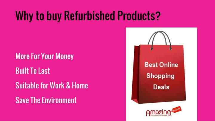 More for your money built to last suitable for work home save the environment