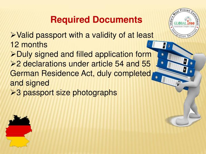 german consulate long stay application form