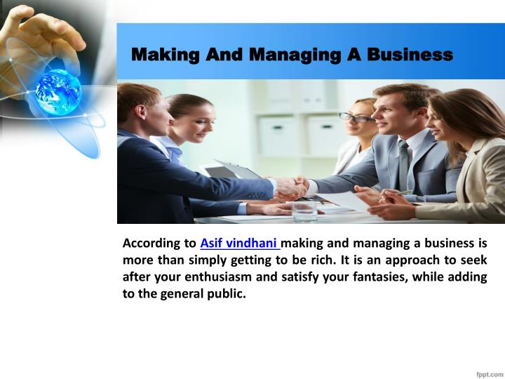 a study about starting and managing a business My own business institute is the world's leading provider of free online education for entrepreneurs our popular, free online courses teach new entrepreneurs how to start a business and experienced entrepreneurs how to grow a business.