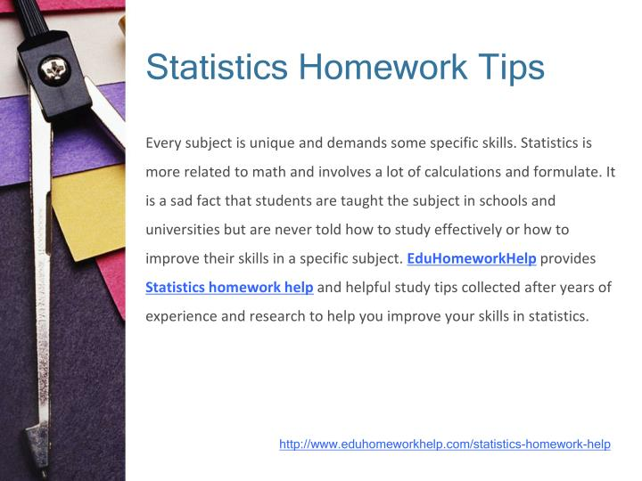 statistic homework help Statistics and probability homework help you will receive a completed statistics and probability homework, assignment or project of exceptional quality completed according to all instructions and requests following the deadline.