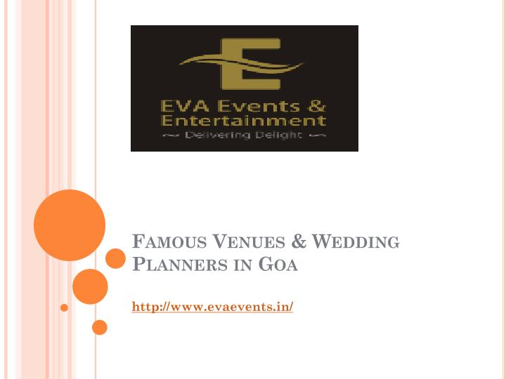 famous venues wedding planners in goa n.