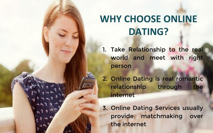 Online dating when to choose