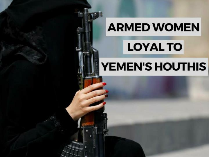 outfitted ladies faithful to yemen s houthis n.