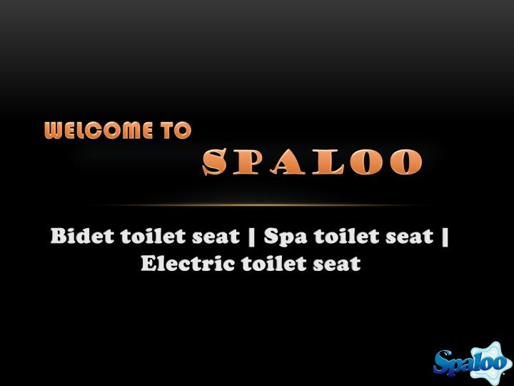 welcome to spaloo n.