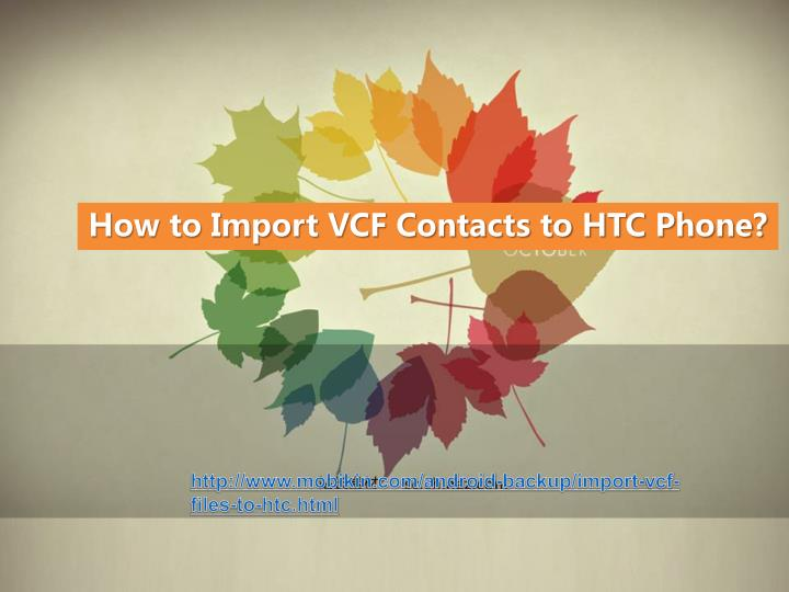 How to import multiple vCards vcf files into Gmail or