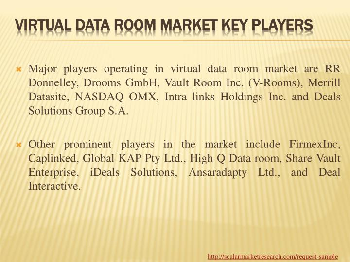 PPT - Global Virtual Data Room Market By Application, Market ...