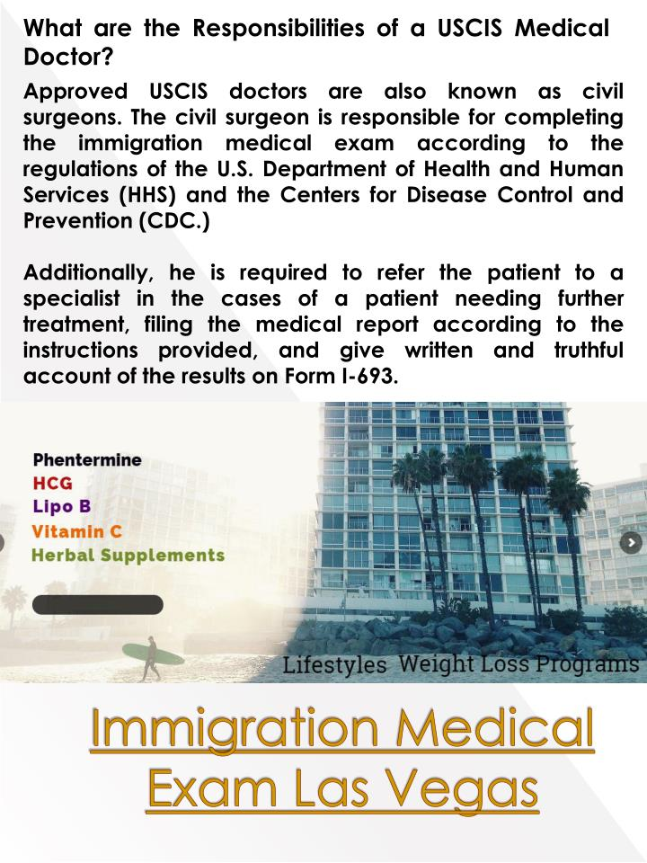 What are the Responsibilities of a USCIS Medical Doctor?