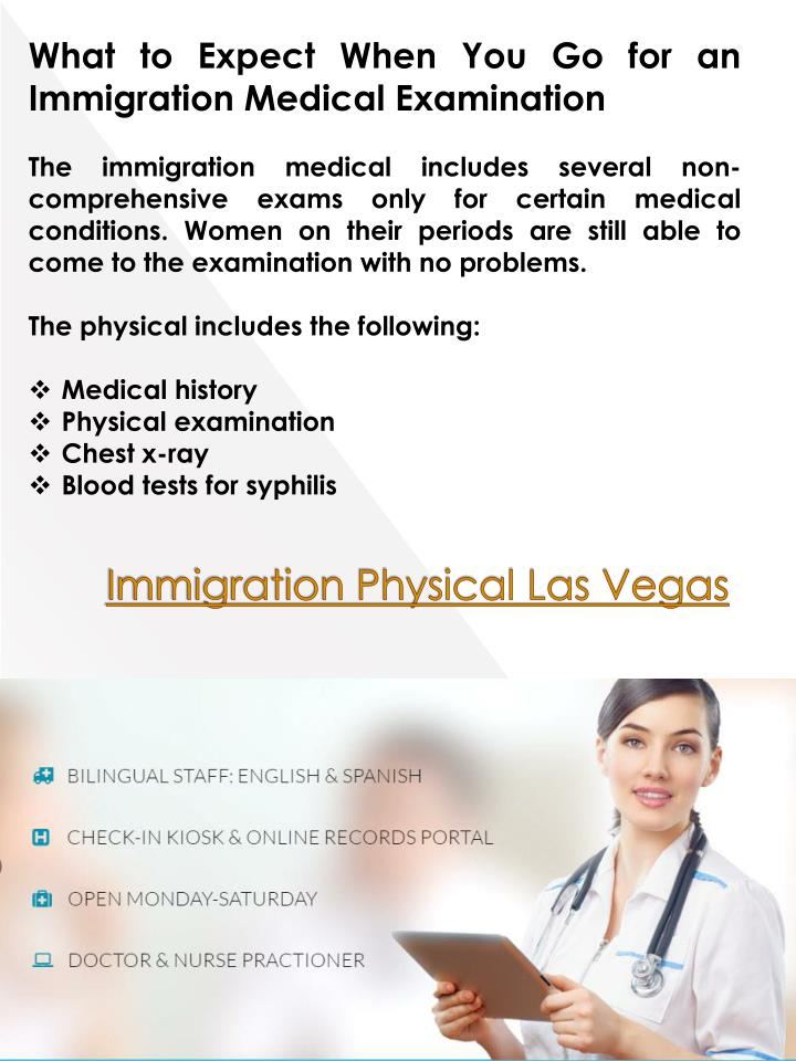 What to Expect When You Go for an Immigration Medical Examination