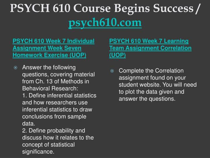 psych610 r1 homework exercise week7