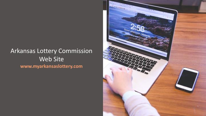 Arkansas Lottery Commission Web