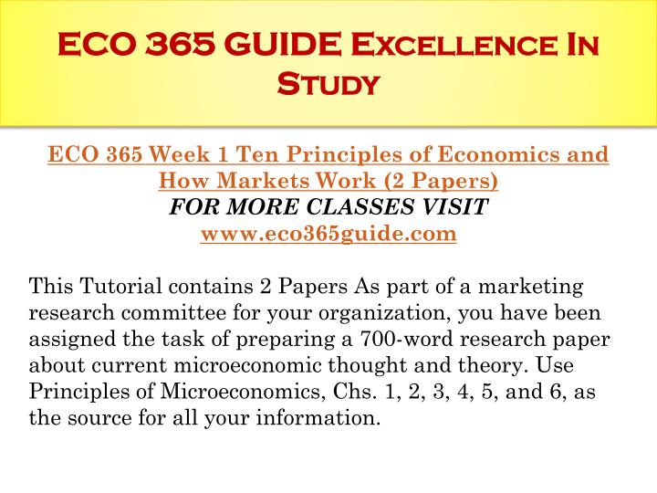 eco 365 week 2 reflections Eco 365 week 2 learning team reflection production and cost analysis eco-365-wet-analysis for more course tutorials visit wwwuophelpcom.
