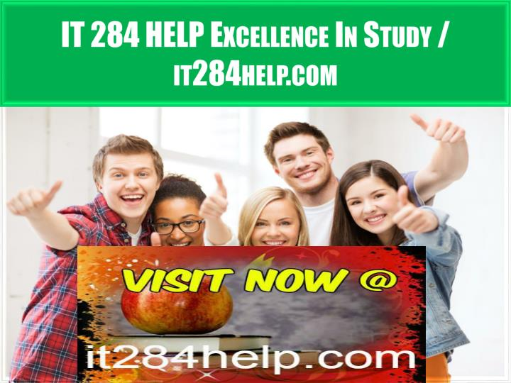 it 284 help excellence in study it284help com n.