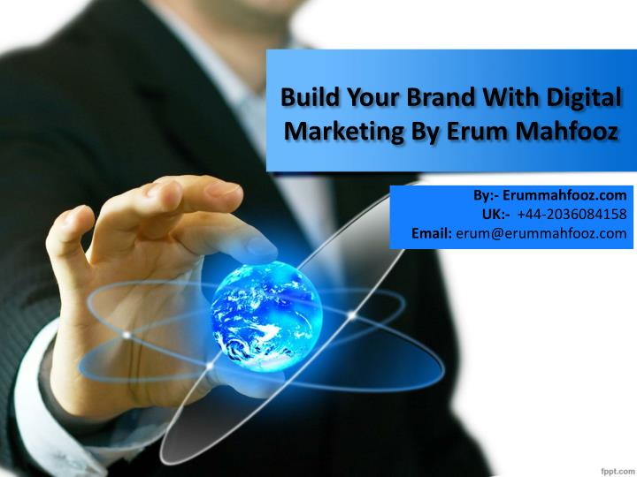 build your brand with digital marketing by erum mahfooz n.