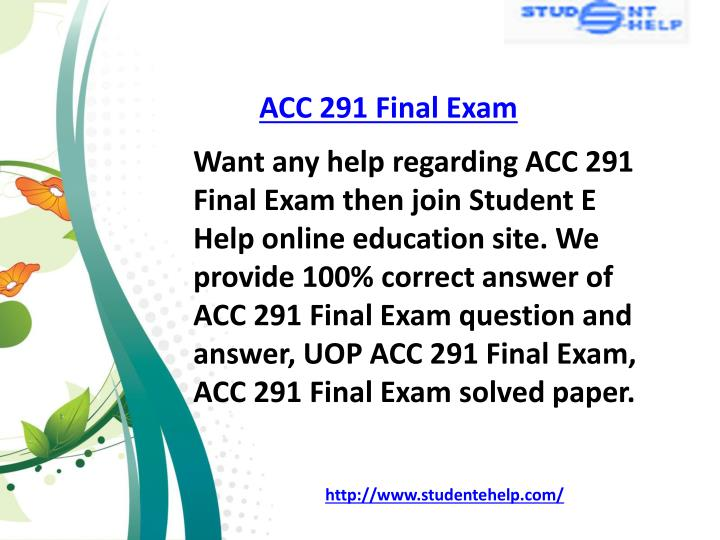 grade 10 acc exam Principles of federal taxation acc 261 online instructor the final grade for the course will be determined with a 3-hour time limit to complete the exam.