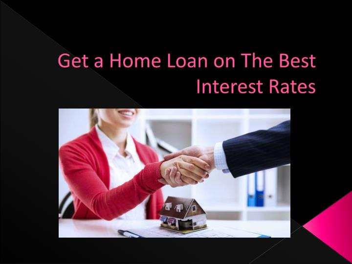 how to get interest rate
