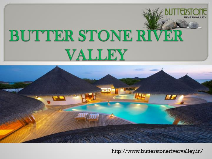 Butter stone river valley