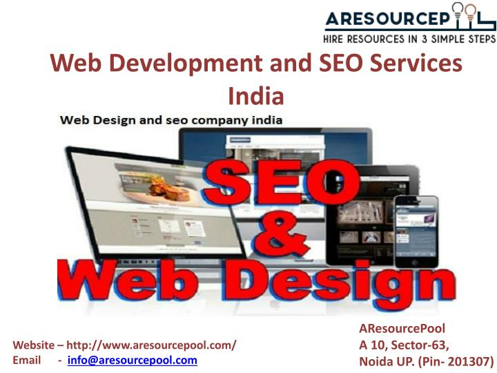 web development and seo services india n.