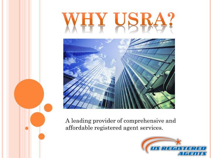 Why USRA?