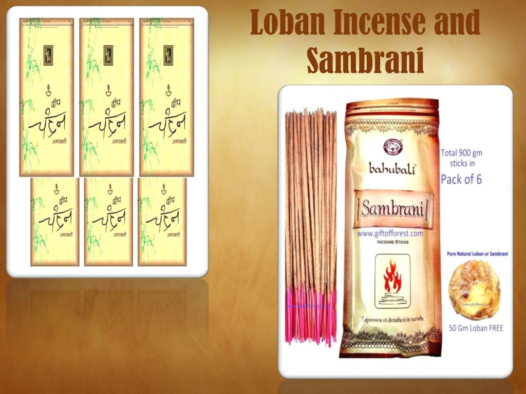 PPT - Aromatic, Colored, Long and Loban Natural Incense Sticks by