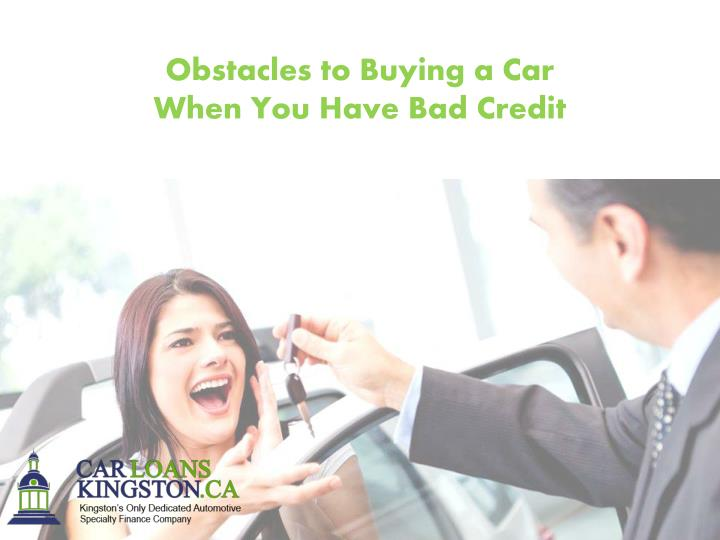 Obstacles to Buying a Car