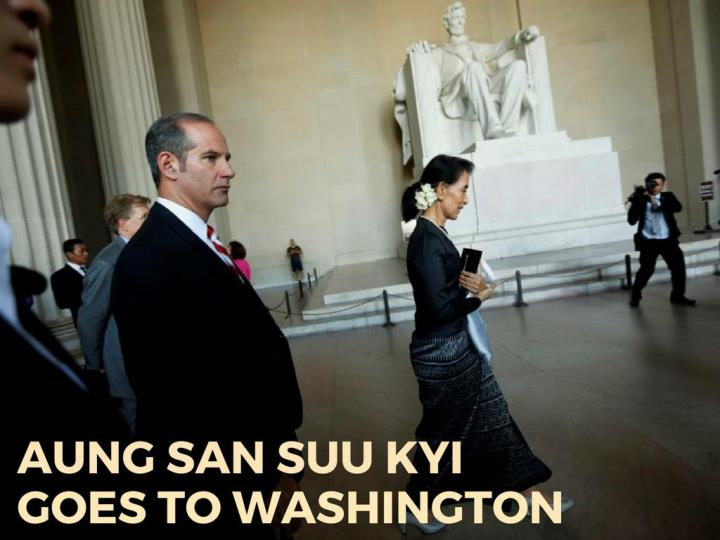 aung san suu kyi goes to washington n.