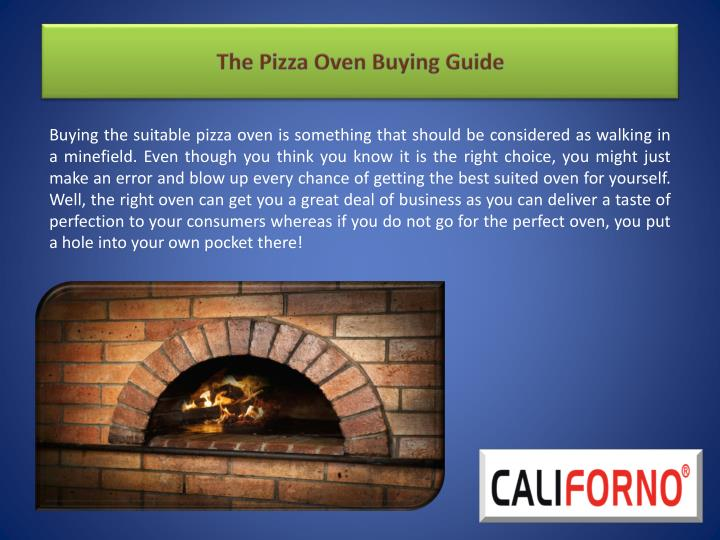 the pizza oven buying guide n.
