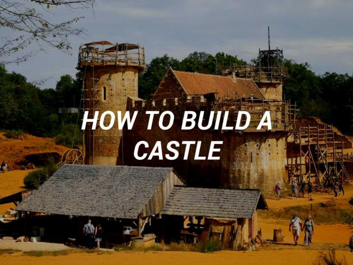 step by step instructions to assemble a castle n.