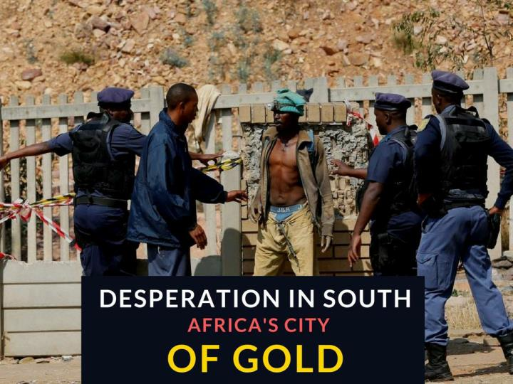 edginess in south africa s city of gold n.