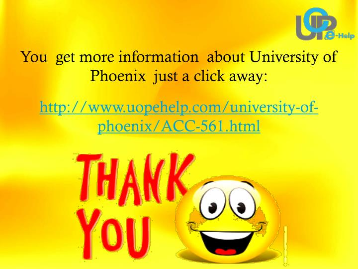 You  get more information  about University of Phoenix  just a click away: