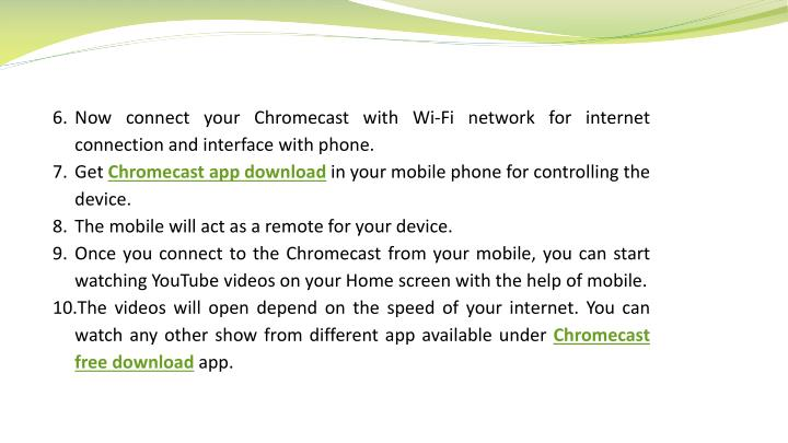 how to connect chromecast from a different phone