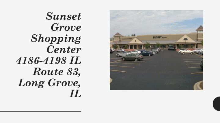 Sunset Grove Shopping Center