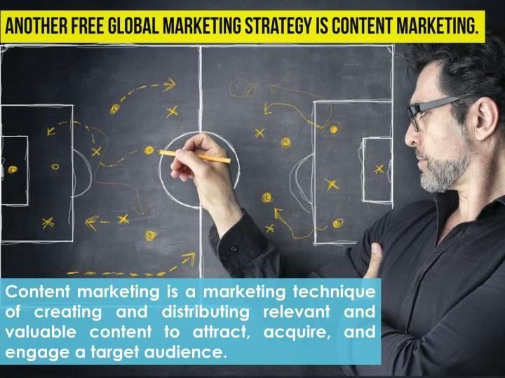 Content marketing is a marketing technique