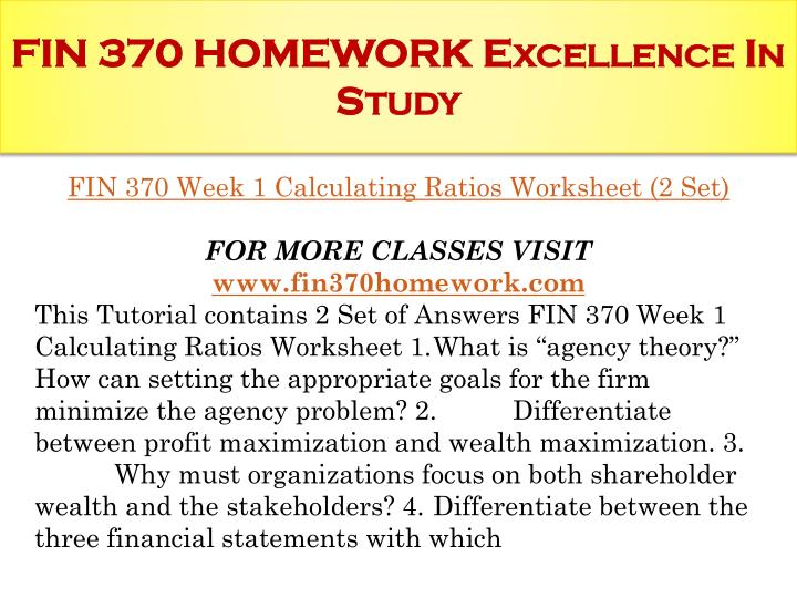 why is shareholders wealth maximization a more appropriate goal than profit maximization Chapter 12 financial management and financial objectives more appropriate than maximization of profit the goal of maximization shareholders wealth why.