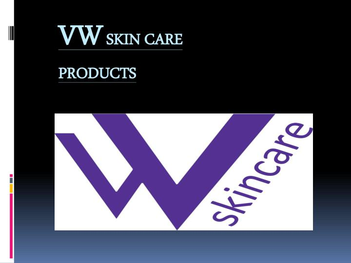 vw skin care products n.