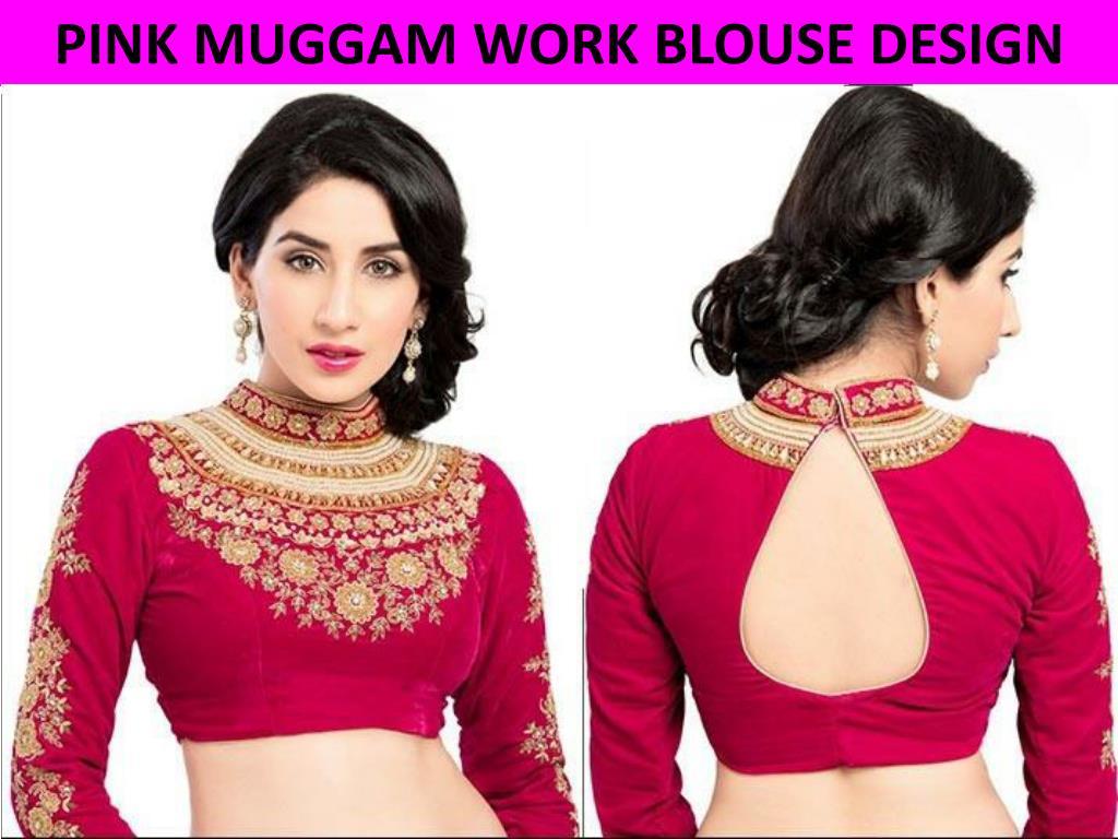Ppt 40 Latest Blouse Back Neck Design For Stylish Women Powerpoint Presentation Id 7403716