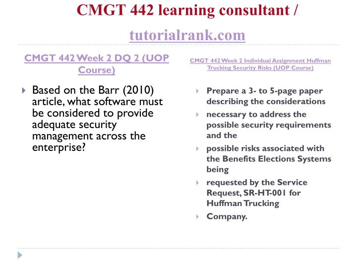 sr ht 001 security requirements and risks paper huffman trucking cmgt 442 Letter to the idaho congressional delegation regarding the review of faa's business case for moving terminal radar approach control services from boise, idaho to.