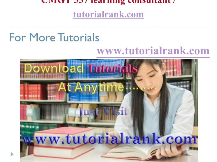 cmgt 557 learning consultant tutorialrank com n.