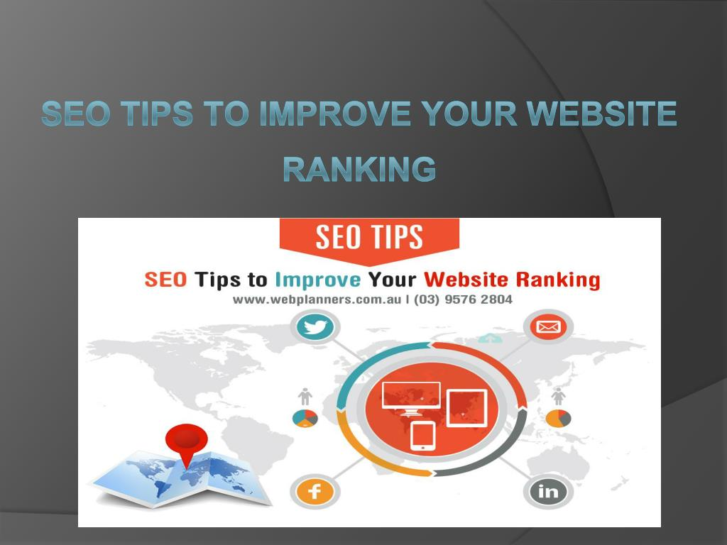 SEO Tips To Improve Your Website Ranking - Market Strategy   Webplanners -  PowerPoint PPT Presentation 4531d5f1343