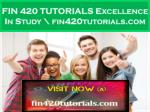 fin 420 tutorials excellence in study fin420tutorials com