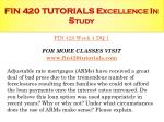 fin 420 tutorials excellence in study12