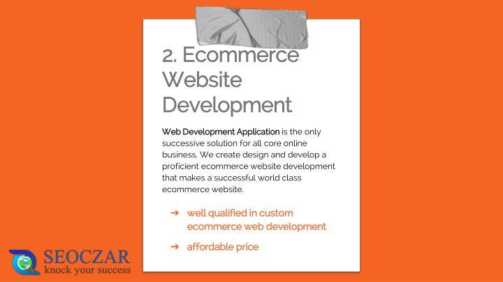 Web Development Application
