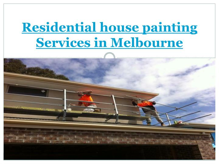 residential house painting services in melbourne n.