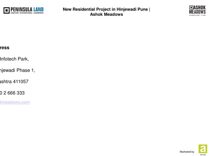 New Residential Project in Hinjewadi Pune  