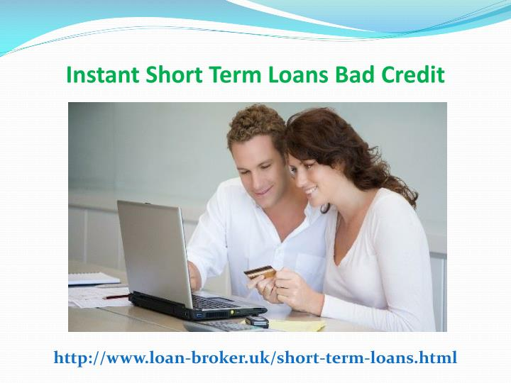 Loans For People With Bad Credit Instant Decision No Fees