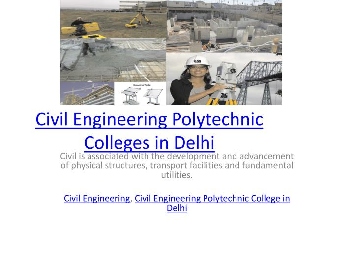 civil engineering polytechnic colleges in delhi n.